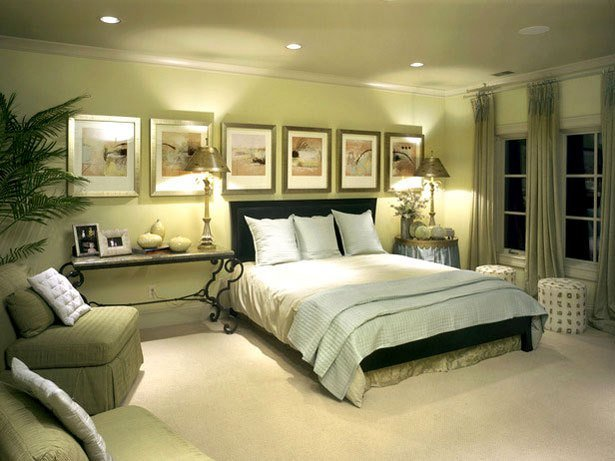 Best How To Decorate Bedroom With Green Colour – Interior Designing Ideas With Pictures