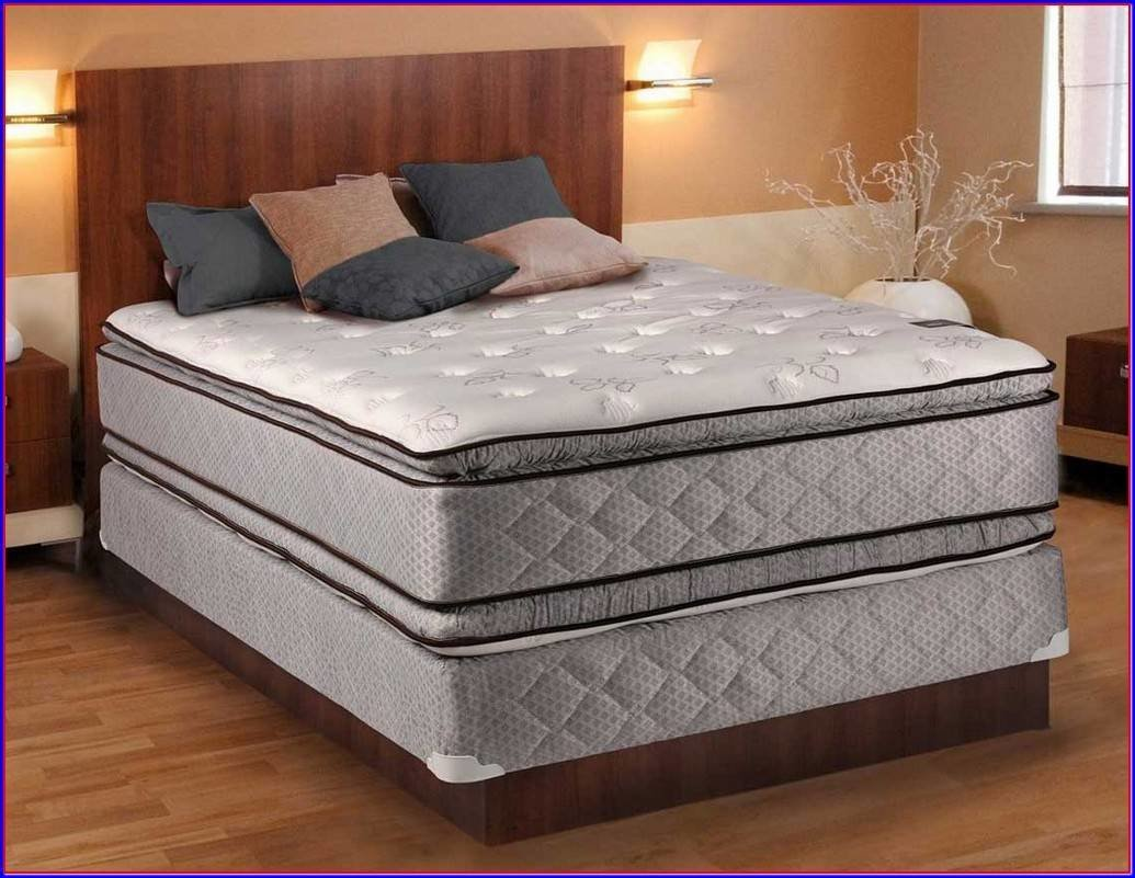 Best Bedroom Split Queen Box Spring Mattress And Boxspring With Pictures