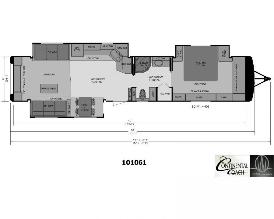 Best 2 Bedroom Travel Trailer Floor Plans And Rv Plansrvhome With Pictures
