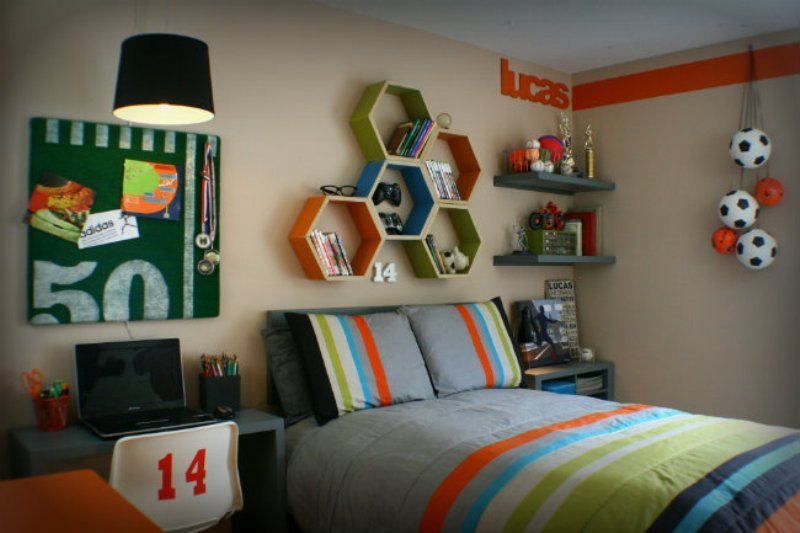 Best 12 Modern T**N Bedroom Designs Based On Boy's Hobbies With Pictures