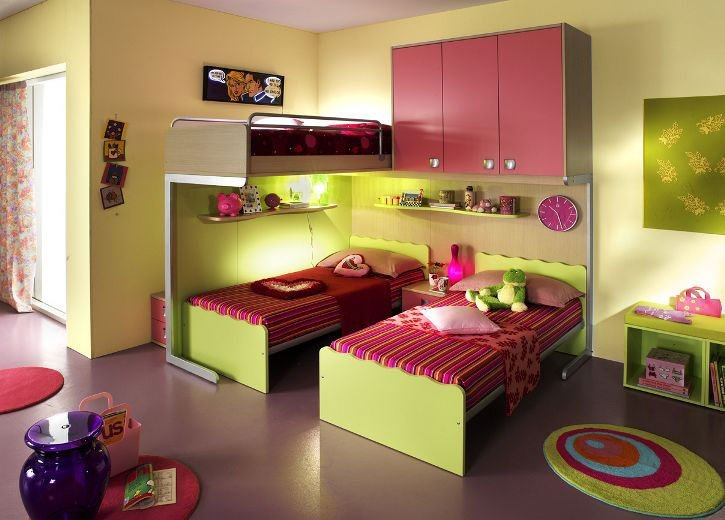 Best Ergonomic Kids Bedroom Designs For Two Children From With Pictures