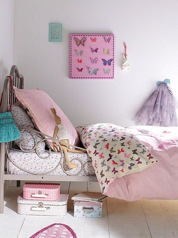 Best Girls Bedroom Ideas Butterfly Accessories Kidspace With Pictures