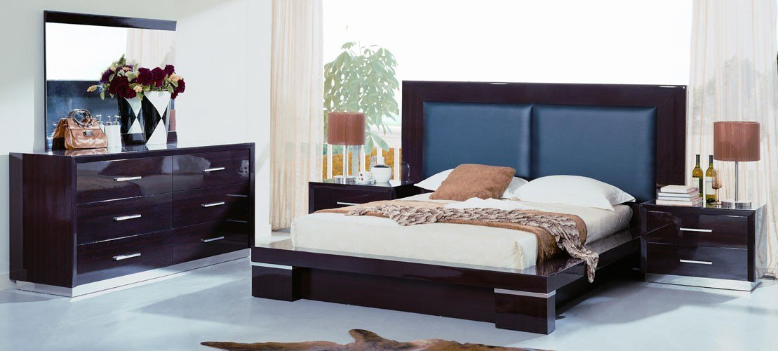 Best Portland Contemporary Lacquer Bedroom Set With Pictures
