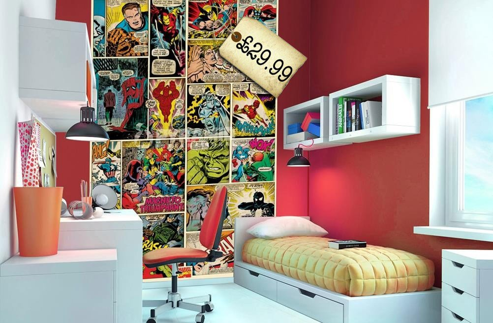 Best Superheroes In The Bedroom Littlestuff With Pictures