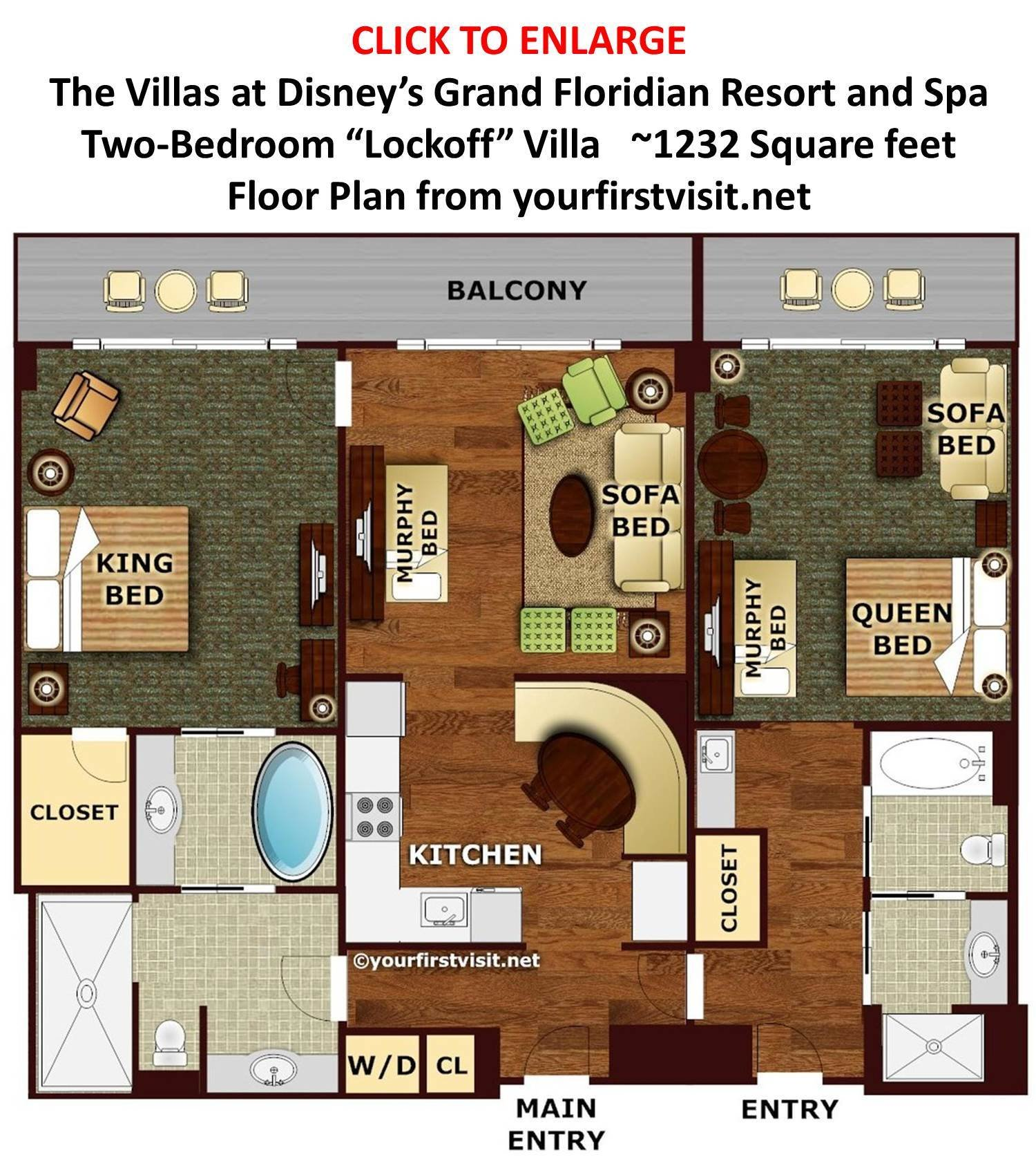 Best Review The Villas At Disney S Grand Floridian Resort With Pictures