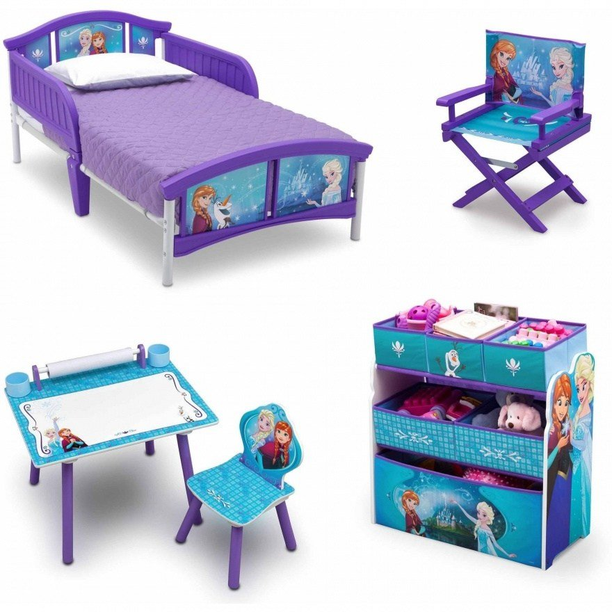 Best Cheap Bedroom Sets Kids Elsa From Frozen For Girls Toddler Beds Furniture Bonus Ebay With Pictures