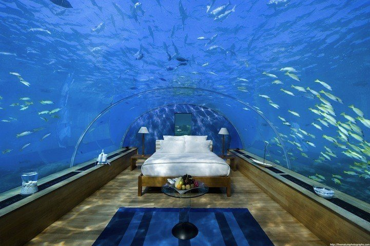 Best Spectacular Underwater Bedroom In Maldives My Modern Met With Pictures