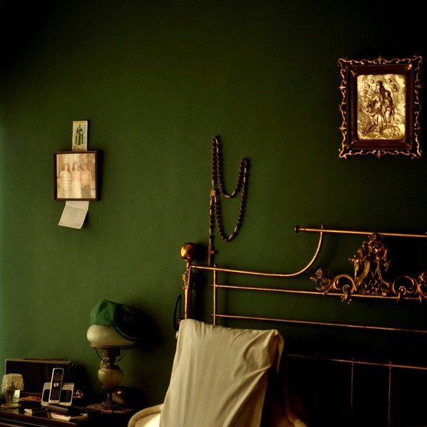 Best Green And Gold Bedroom Art Print By Valeria Heine Society6 With Pictures