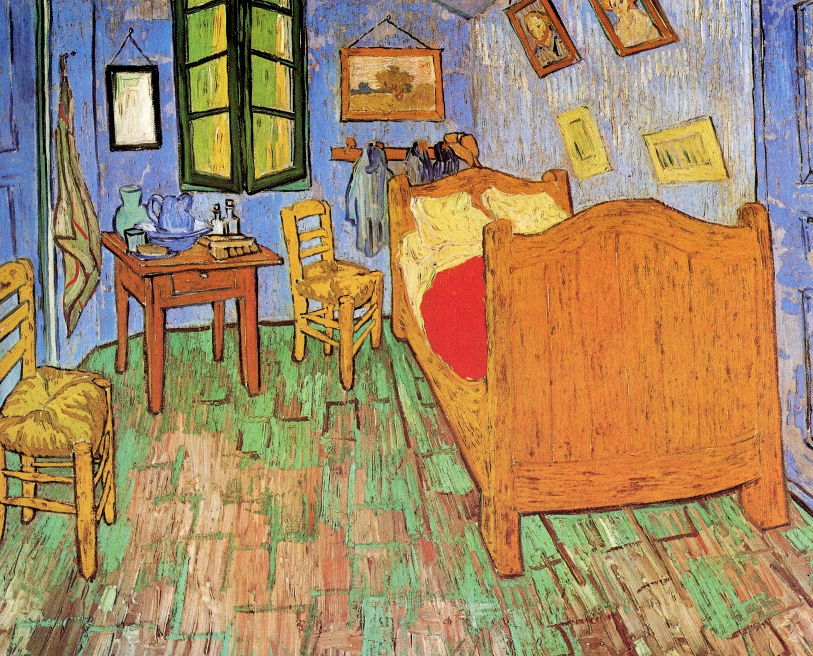 Best Vincent Van Gogh The Bedroom 1889 All Three Versions Of With Pictures