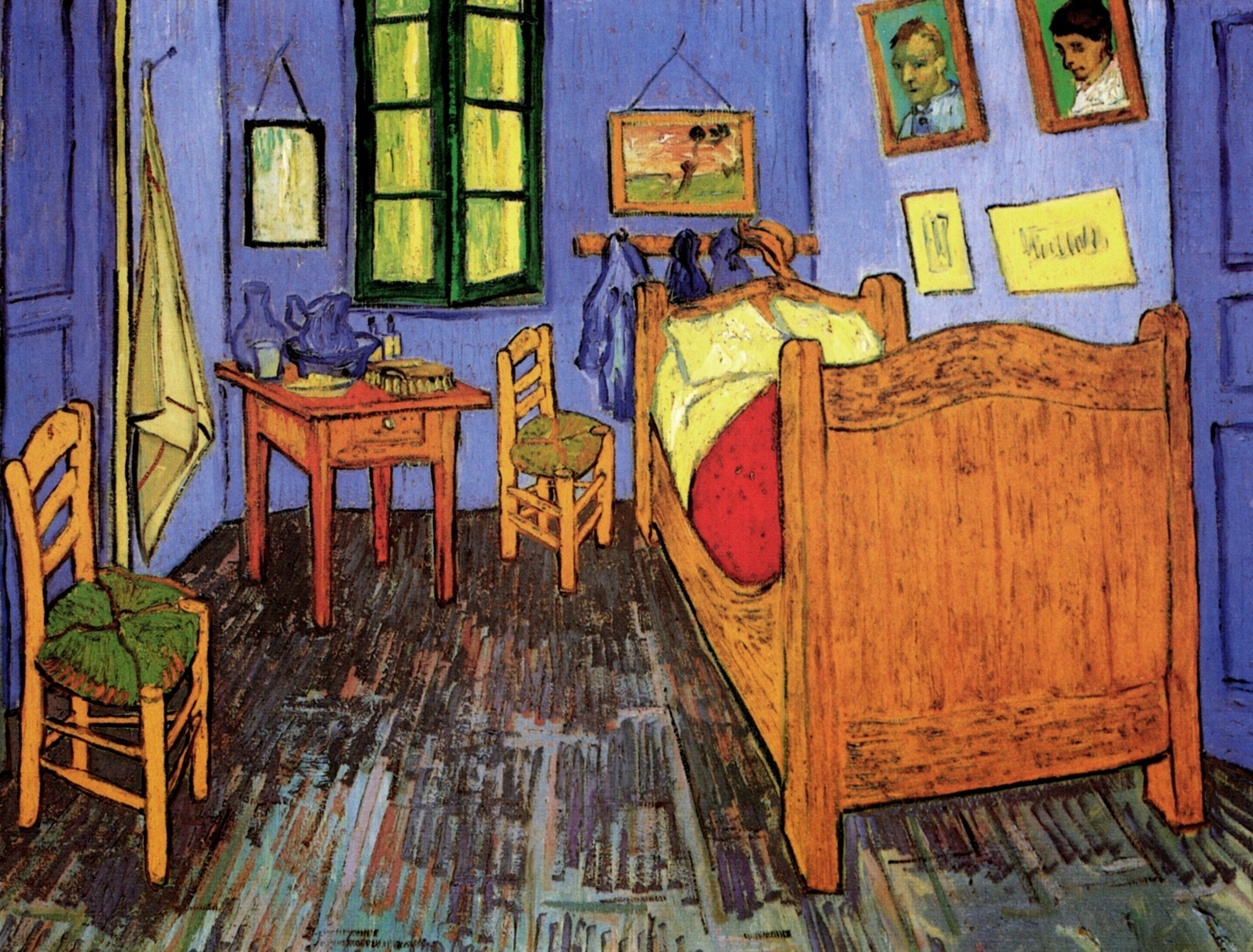 Best Vincent Van Gogh Vincent S Bedroom In Arles 1889 With Pictures