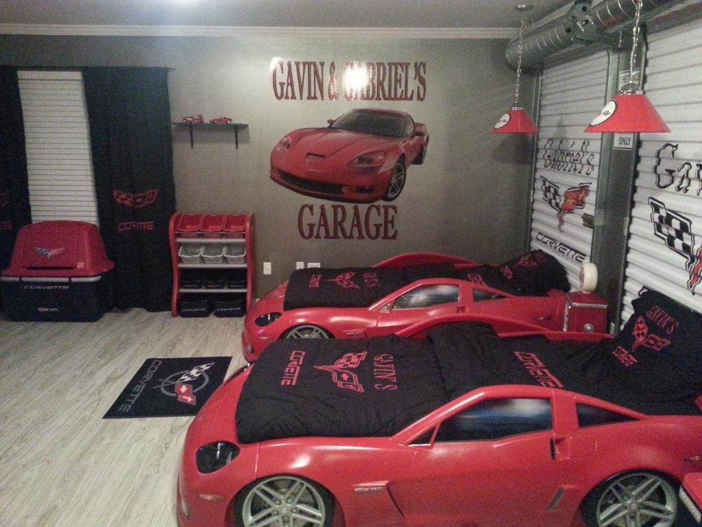 Best Corvette Kids Bed Set 2017 House Design With Pictures