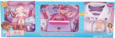 Best Doc Mcstuffin Deluxe Doctor Set 3In1 Exclusive Kids With Pictures