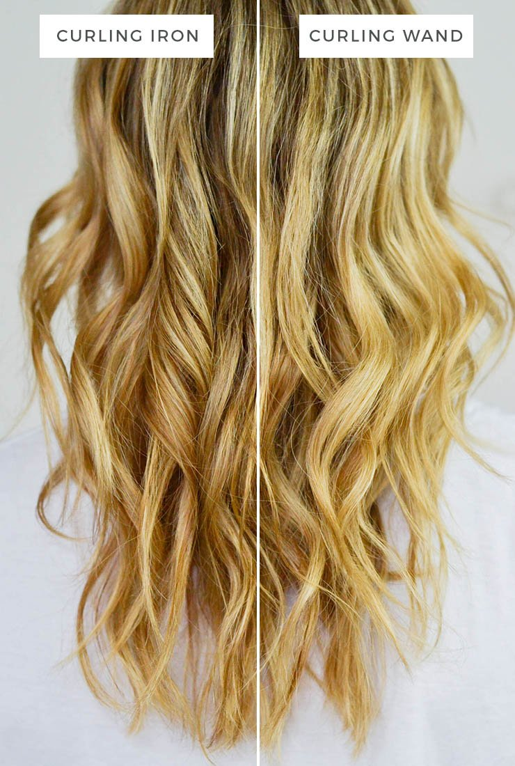 Free Curling Iron Vs Curling Wand – Advice From A Twenty Something Wallpaper