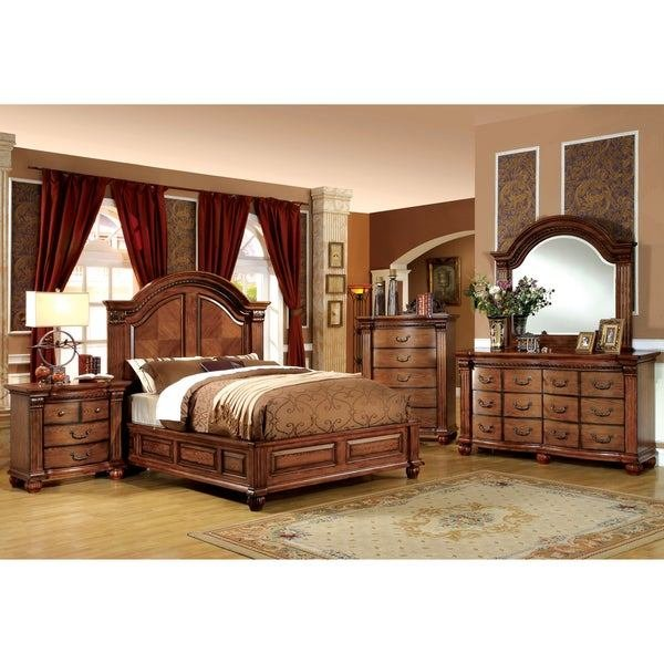 Best Furniture Of America Traditional Style 4 Piece Antique With Pictures