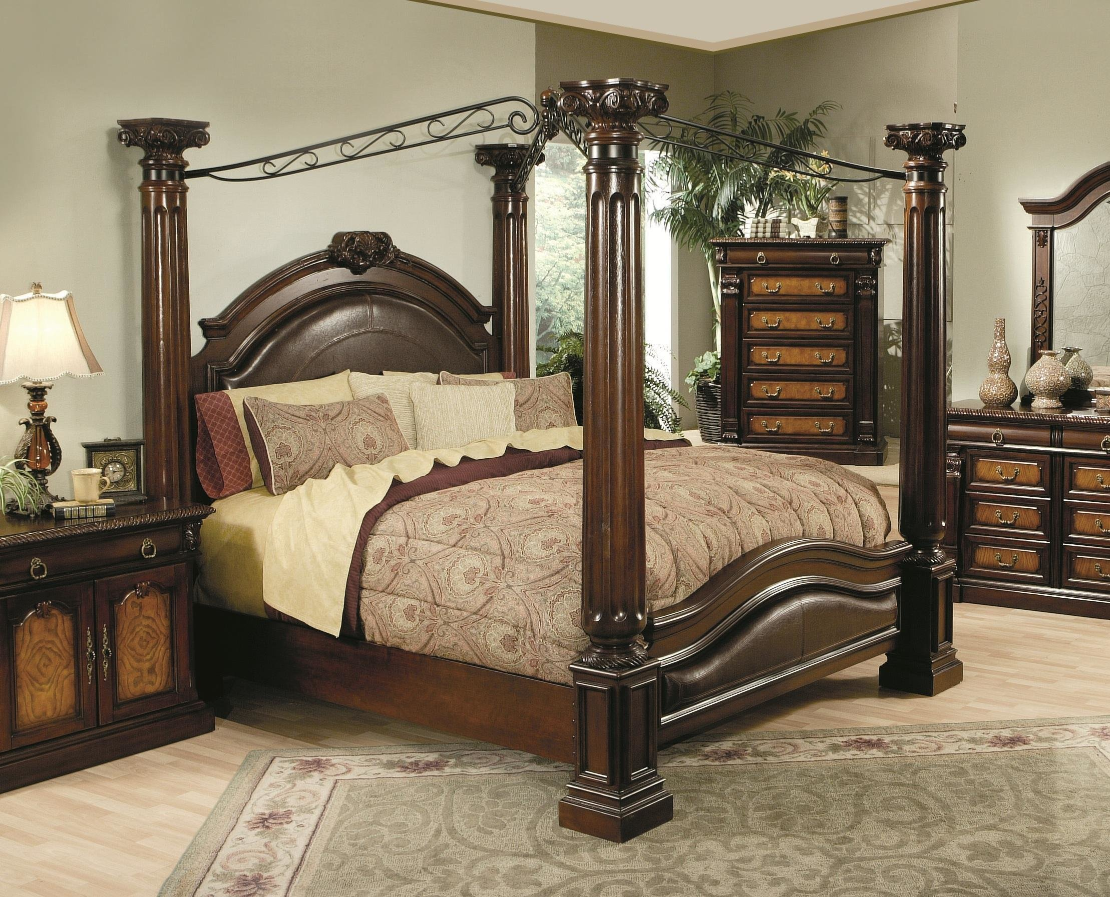 Best Hollywood Home Monte Carlo Canopy Bed By Oj Commerce With Pictures