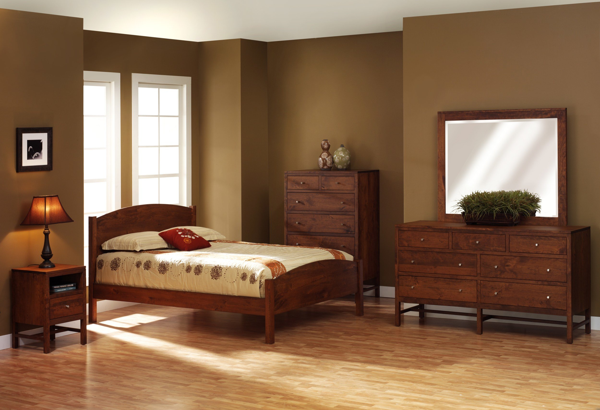 Best Lynwood Collection Shaker Style Eclipse Bedroom Set Amish With Pictures