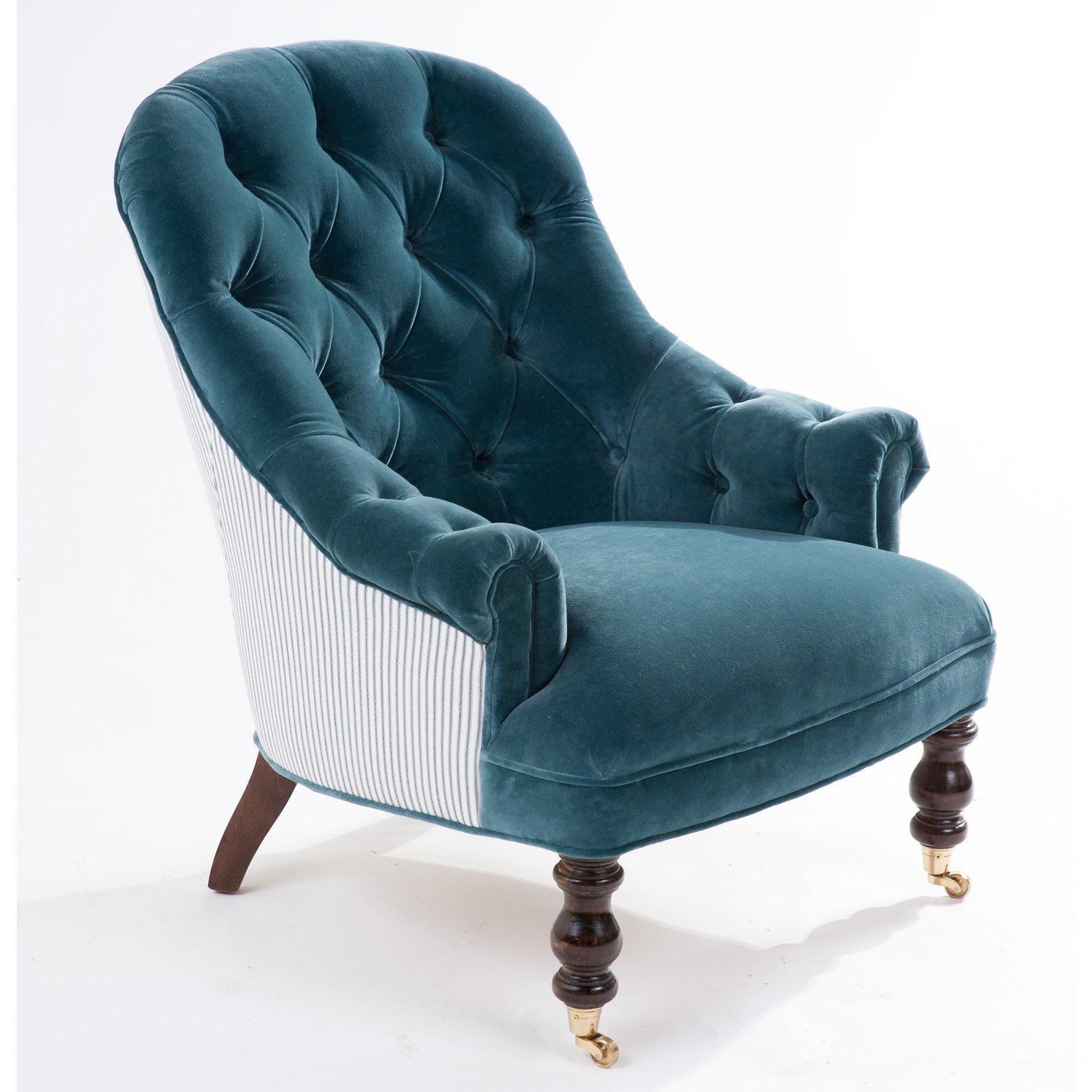 Best Hazel Petite Tufted Chair By The Beautiful Bed Company With Pictures