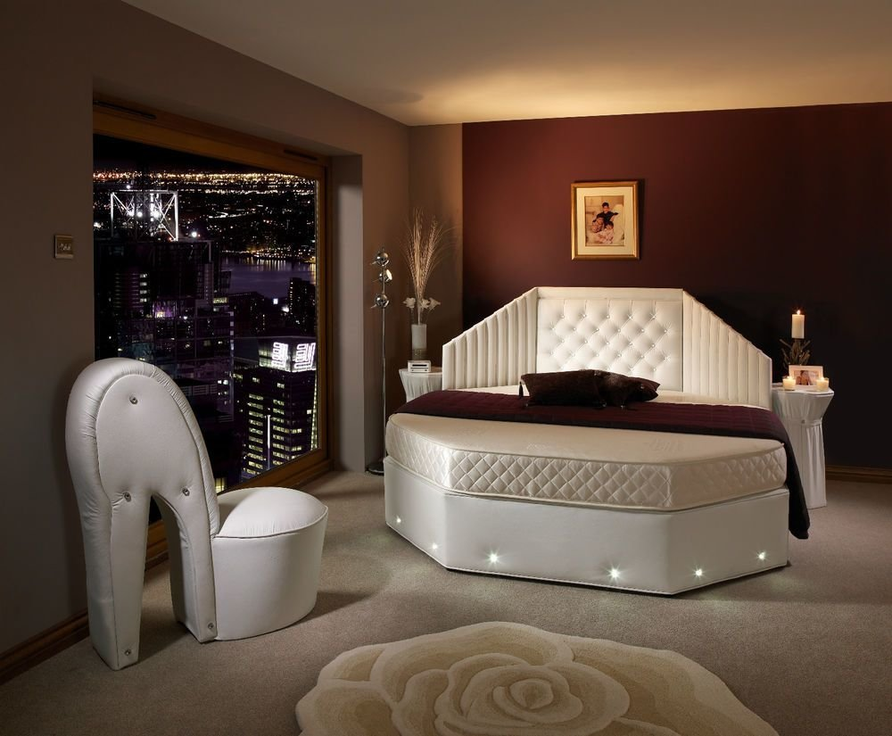 Best 25 Magnificent Unique Rounded Bed Bedrooms Architecture Design With Pictures