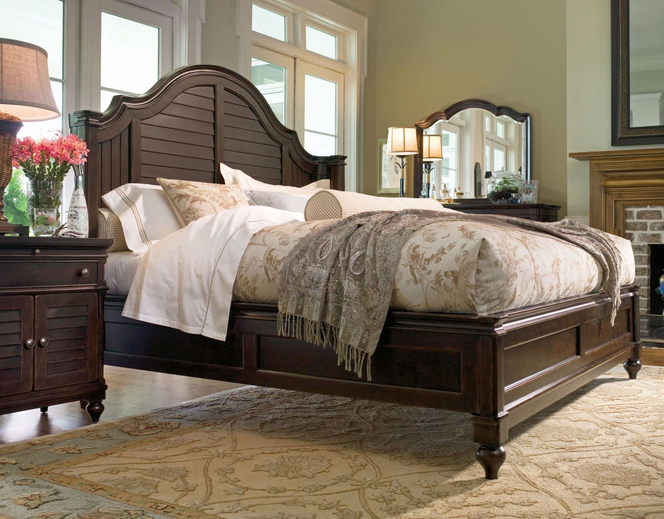 Best Paula Deen Home Tobacco Steel Magnolia Bedroom Set With Pictures