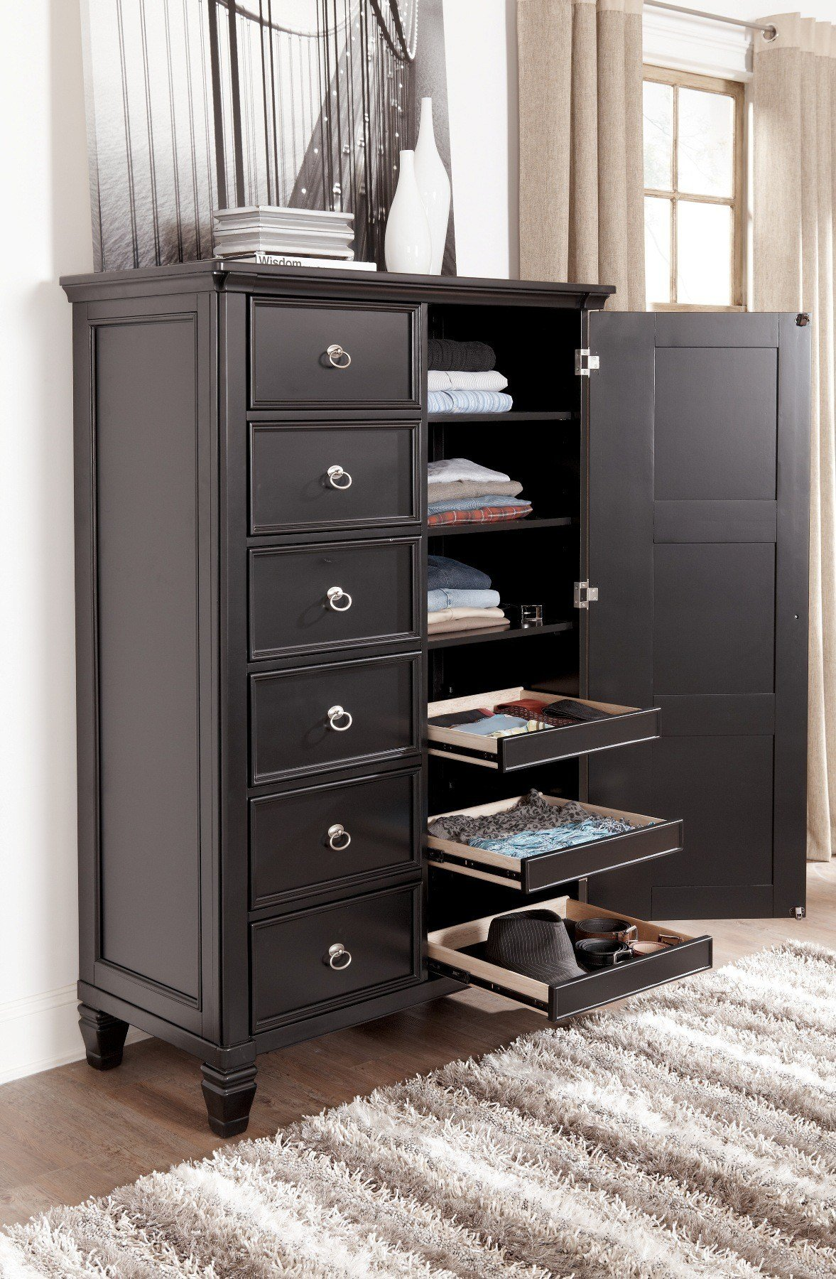 Best Ashley Greensburg Storage Sleigh Bedroom Set B671 With Pictures