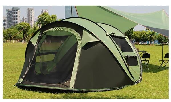 Best Large Family Sized Instant Pop Up Camping Tent That Sleeps With Pictures