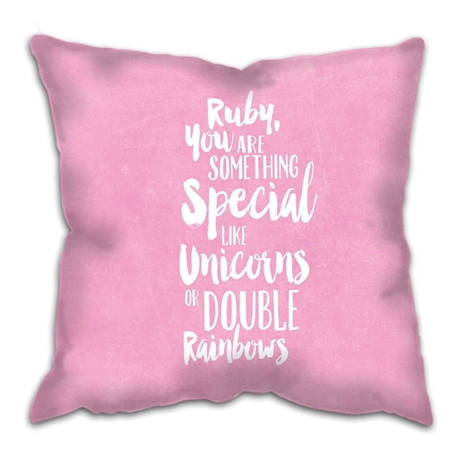 Best Something Special Cushion Custom Girl Baby Girl Gift With Pictures