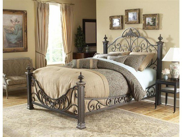 Best Fantastically Hot Wrought Iron Bedroom Furniture With Pictures