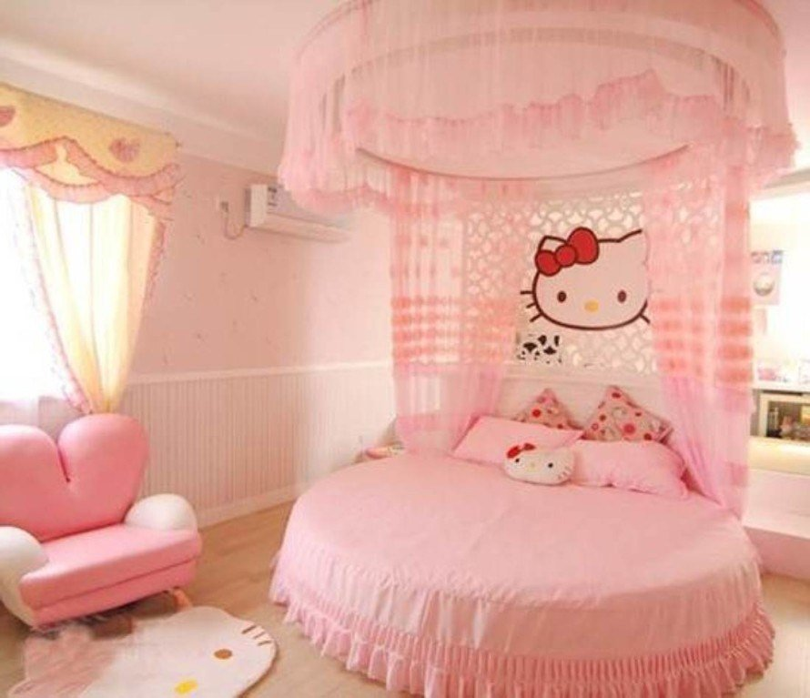 Best Hello Kitty Girls Room Designs With Pictures