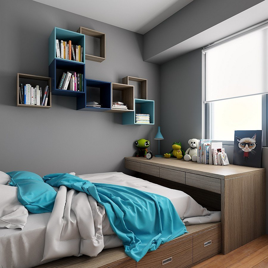 Best Tetrees Play Tetris With Modular Wall Shelves And Cabinets With Pictures