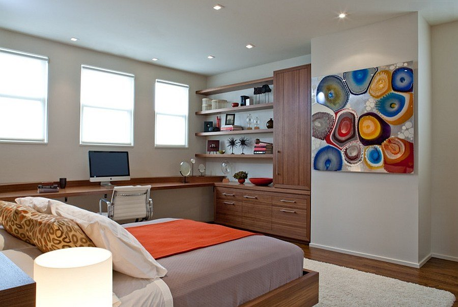 Best 25 Creative Bedroom Workspaces With Style And Practicality With Pictures