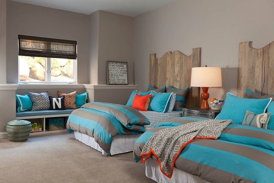 Best 25 Cool Kids' Bedrooms That Charm With Gorgeous Gray With Pictures