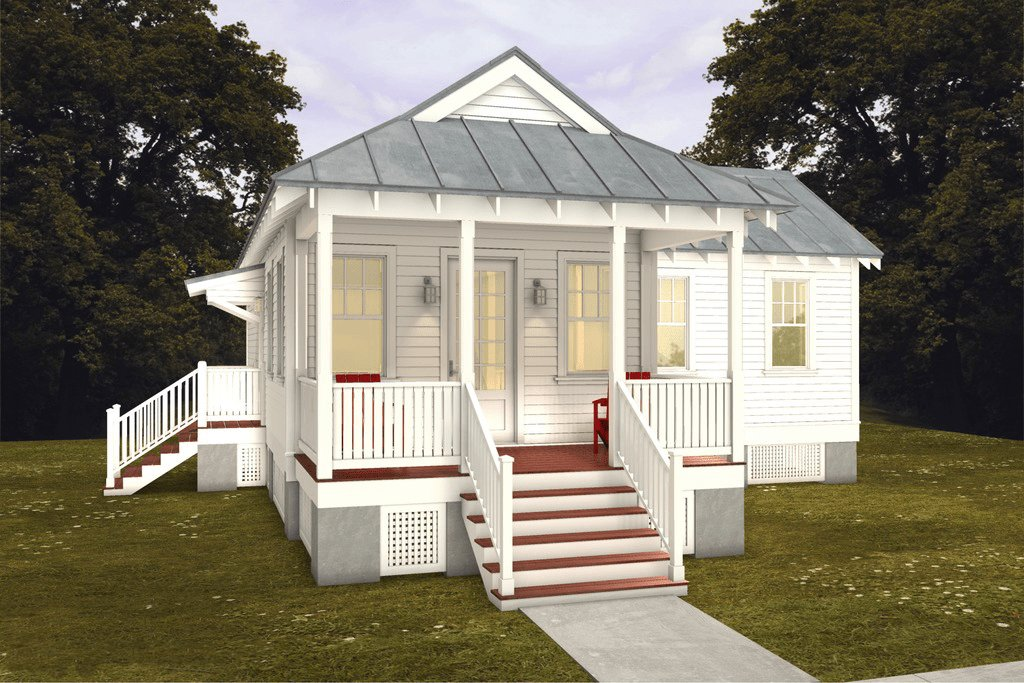Best Cottage Style House Plan 2 Beds 2 Baths 832 Sq Ft Plan With Pictures