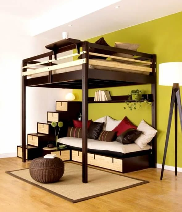 Best Bedroom Furniture Design For Small Spaces With Pictures