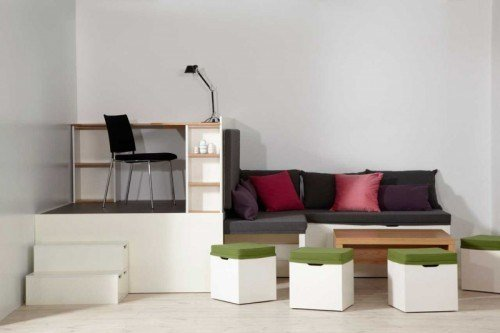 Best Matroshka Furniture Set For Small Spaces Small Bedroom With Pictures