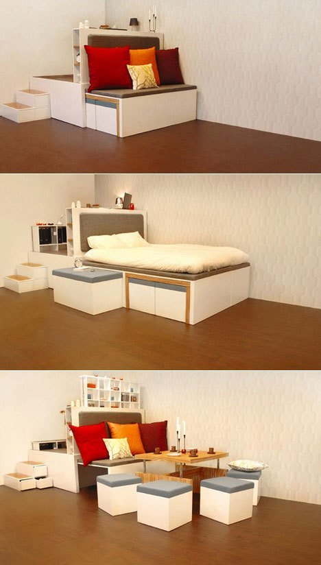 Best 17 Multi Purpose Furniture That Changes Function In No Time With Pictures