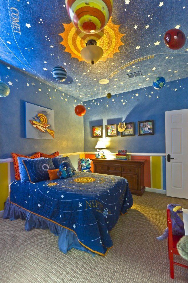 Best 21 Cool Ceiling Designs That Turn Kids Bedrooms Into With Pictures