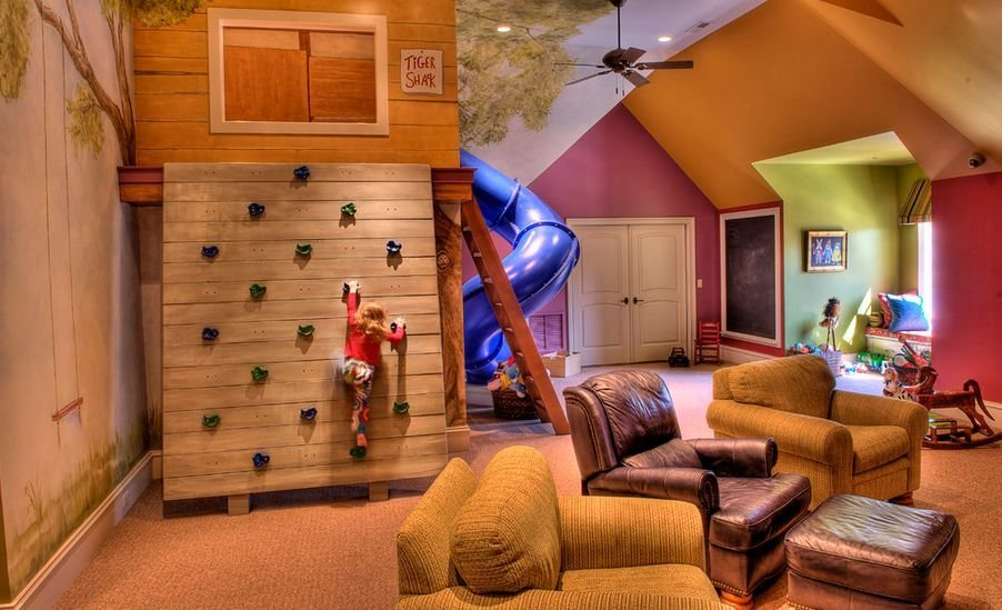 Best Turn The House Into A Playground – Fun Slides Designed For Kids With Pictures