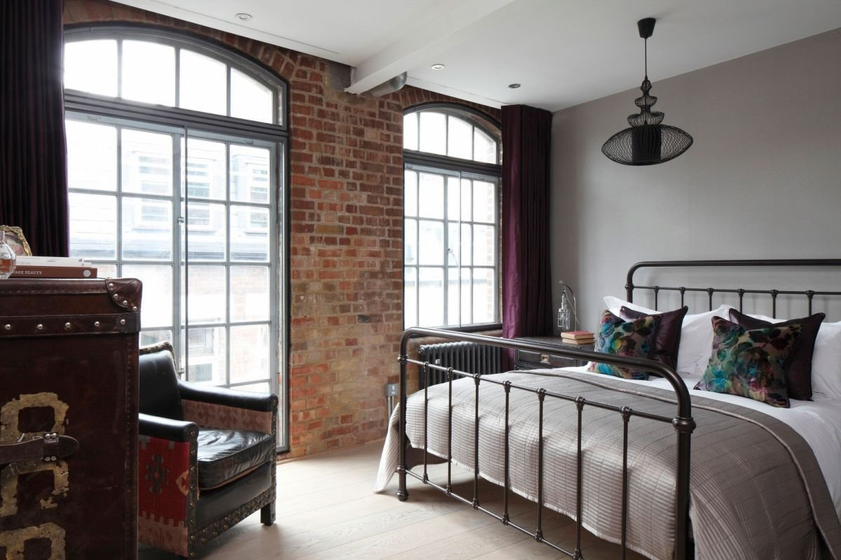 Best Sophisticated Industrialism Revealed In A London Apartment With Pictures