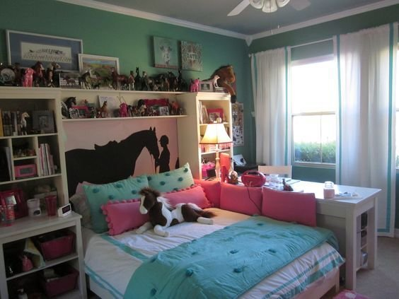 Best 12 Cute Ideas For Decorating A Kid S Horsey Bedroom Wide With Pictures