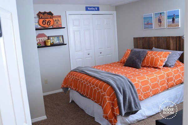 Best Diy Pallet Headboard The Idea Room With Pictures