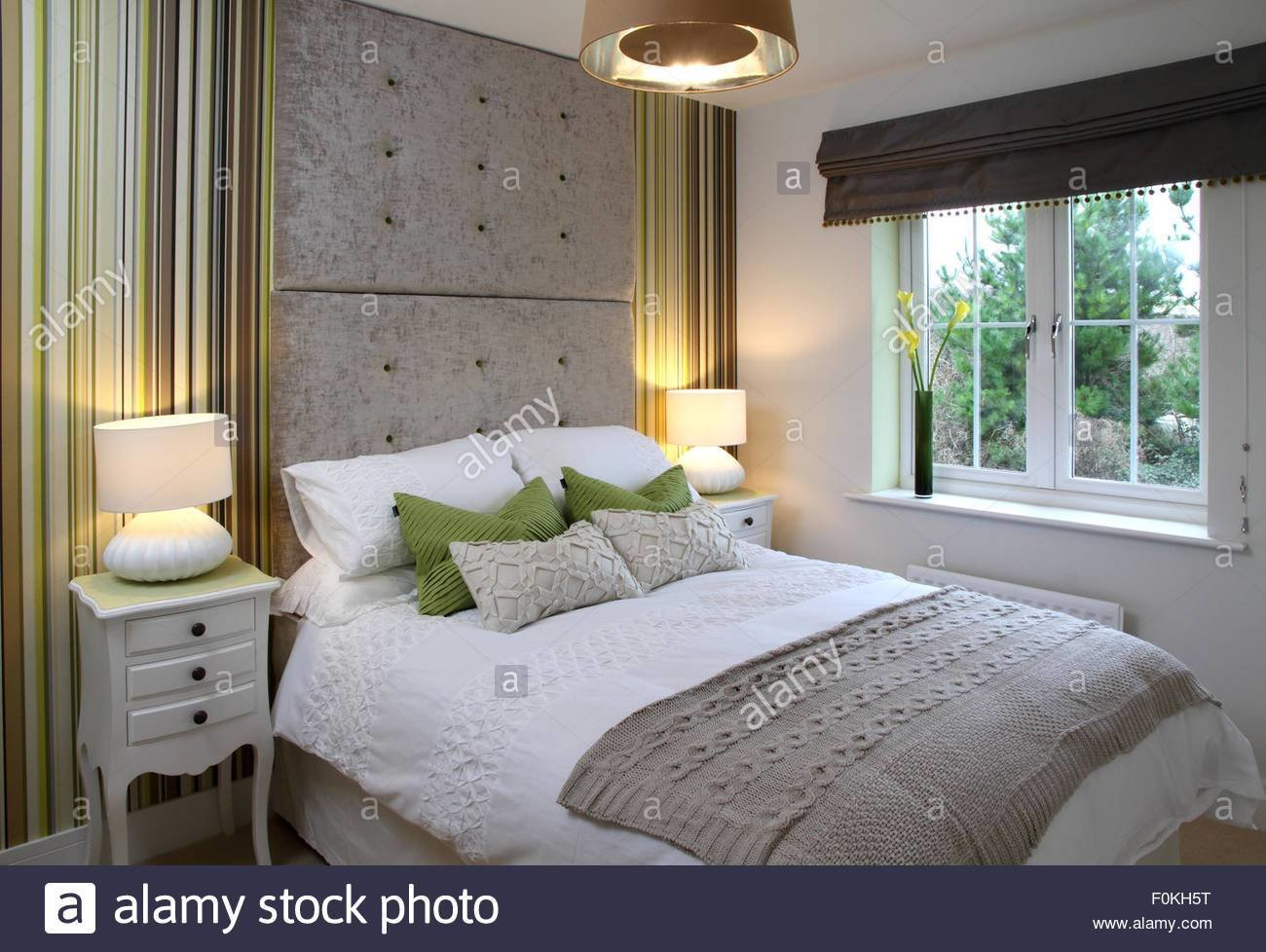 Best New Bedroom With Side Tables And Lamps Double Height With Pictures