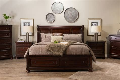 Best Ashley Furniture Sleigh Bed With Storage Mathis Brothers With Pictures