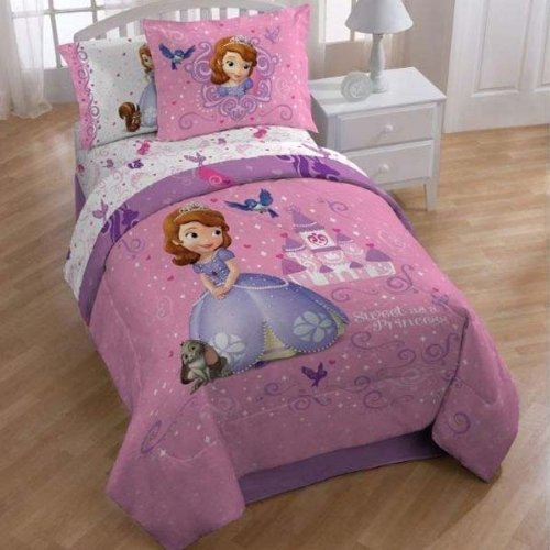 Best Disney Sofia The 1St Sweet Princess Sheet Set Twin With Pictures