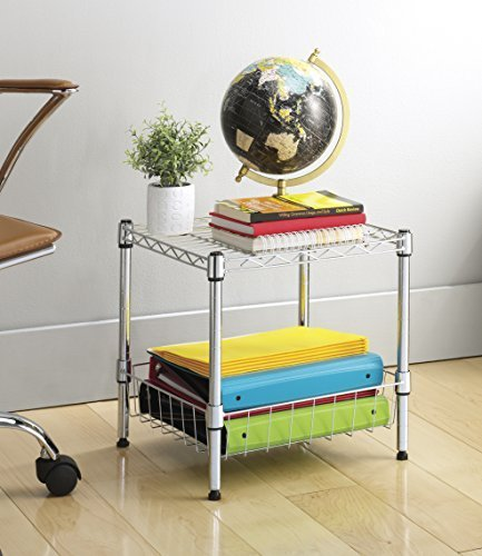 Best Stacking Shelf Basket Storage Organizer Bedroom Living Laundry Kitchen Home Dorm Ebay With Pictures