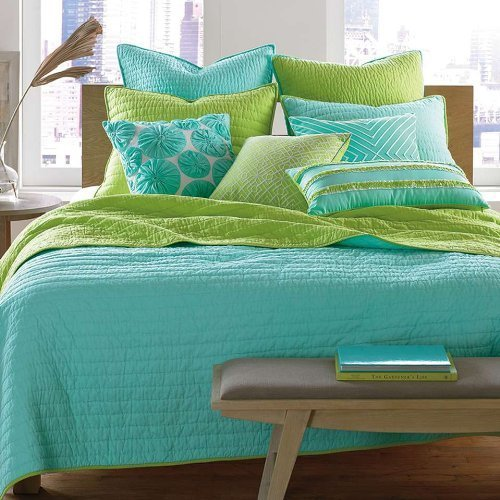 Best Turquoise Blue And Lime Green Bedding Sets Sweetest Slumber With Pictures