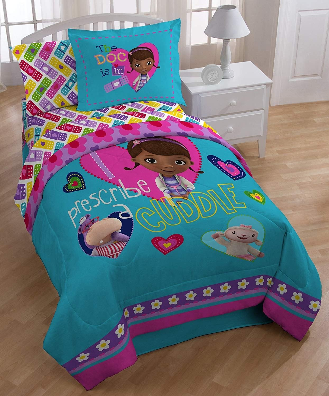 Best Disney Doc Mcstuffins Comforter Twin New Free Shipping With Pictures