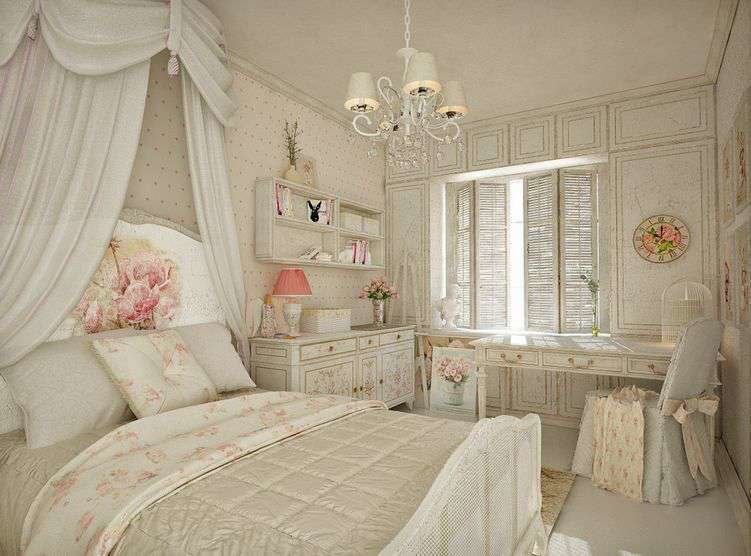 Best French Style Shabby Chic Bedroom Furniture Set For Medium With Pictures