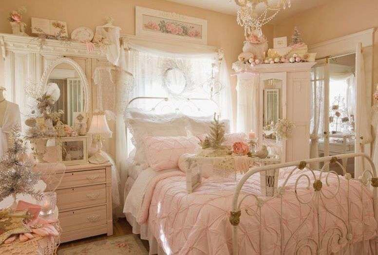 Best Vintage Bedroom Design With Shaby Ch*Ck Style For Medium Room With Pictures