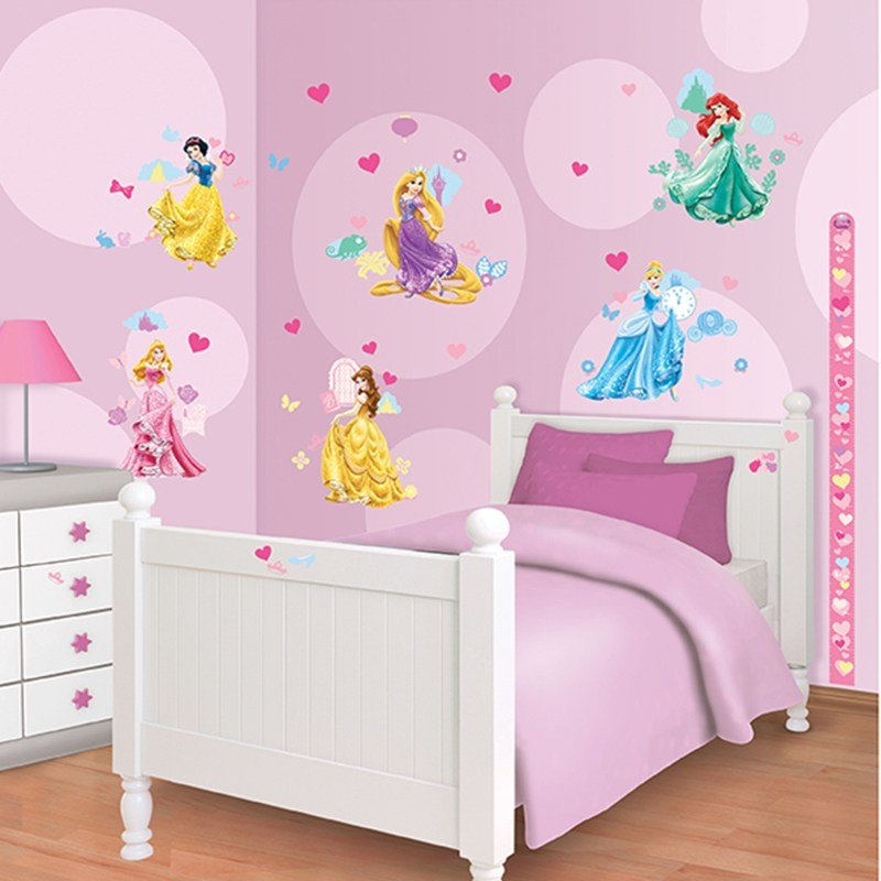 Best Walltastic Disney Princess Room Decor Kit With Pictures