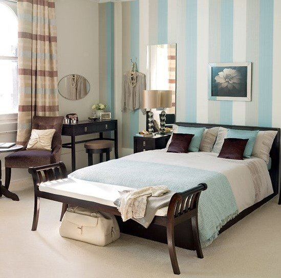Best Calm And Soft Blue And Brown Bedroom Ideas Home Interiors With Pictures